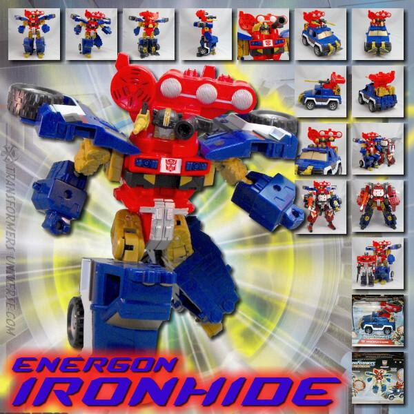 Energon Ironhide