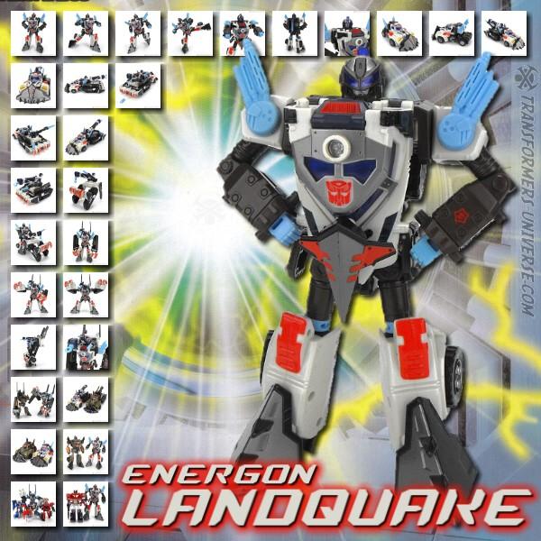 Energon Landquake