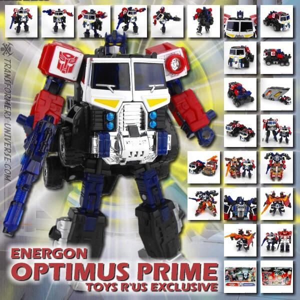 Energon TRU Exclusive Optimus Prime