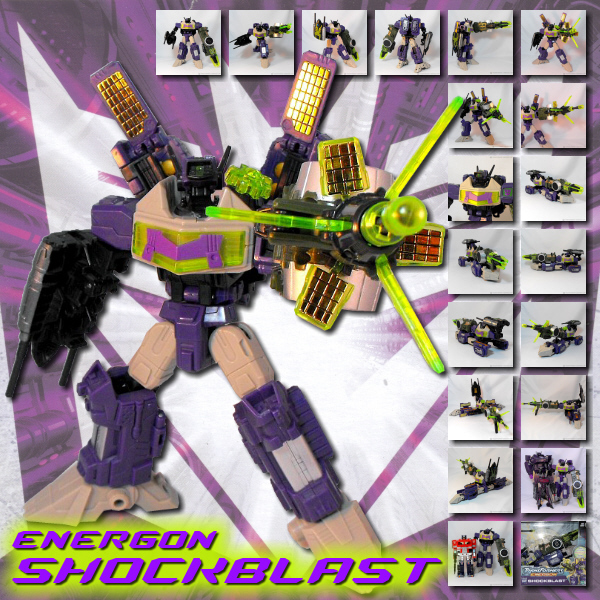 Energon Shockblast