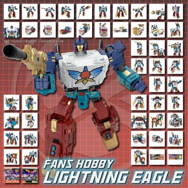 Fans Hobby Lightning Eagle