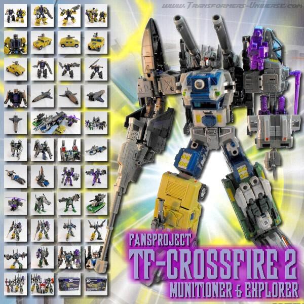 Fansproject Crossfire 2: Explorer & Munitioner