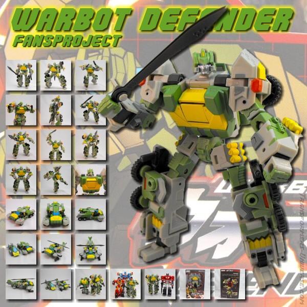 Fansproject Warbot Defender