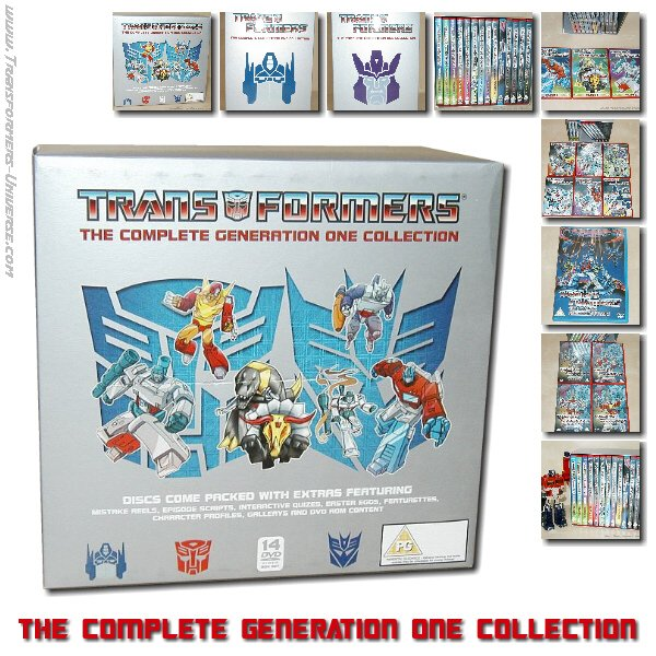 The Complete Generation One Collection