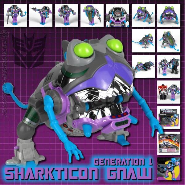 G1 Sharkticon Gnaw