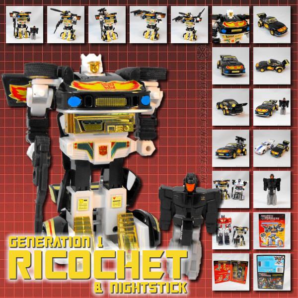 G1 Ricochet & Nightstick