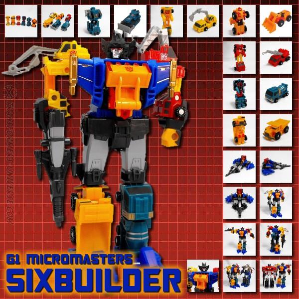 G1 Micromasters Sixbuilder