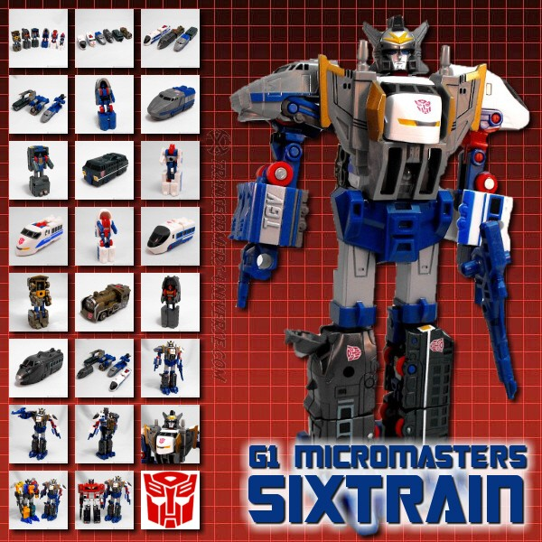 G1 Micromasters Sixtrain