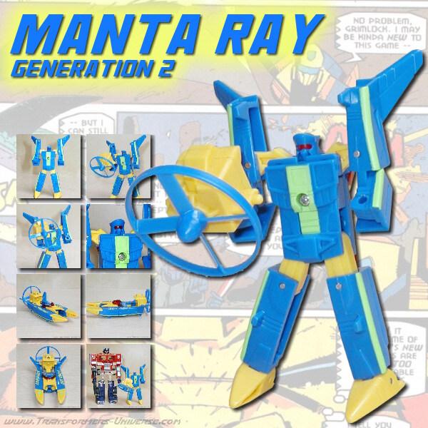 G2 Manta Ray