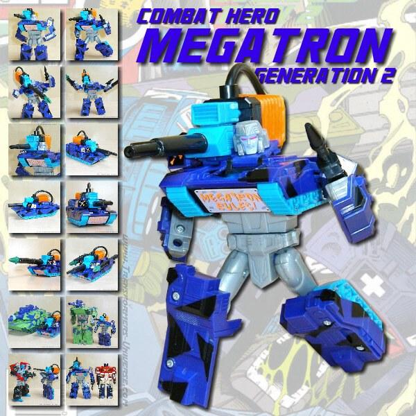 G2 Megatron Combat Hero