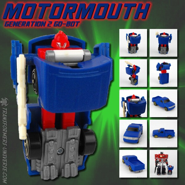 Generation 2  Motormouth (1995)