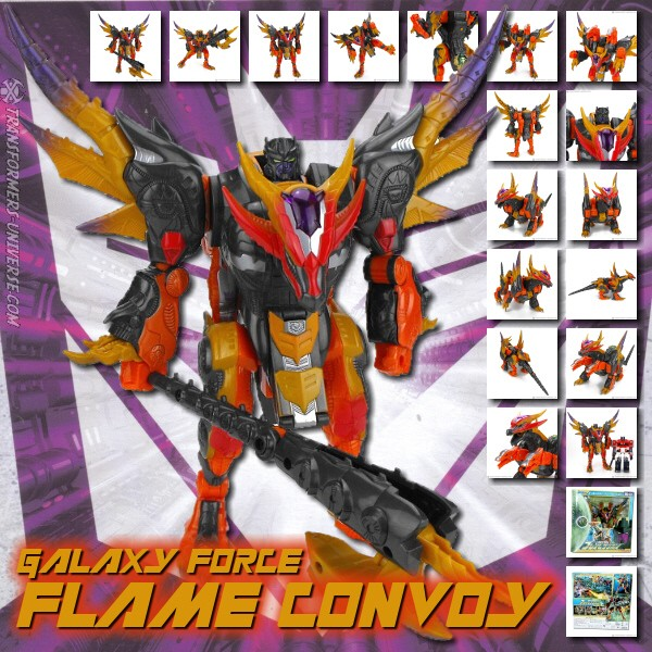 Galaxy Force GD-07 Flame Convoy