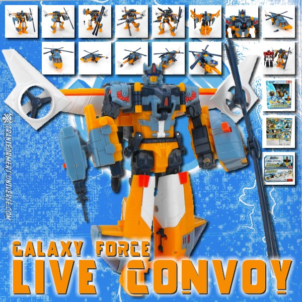 Galaxy Force GC-18 Live Convoy