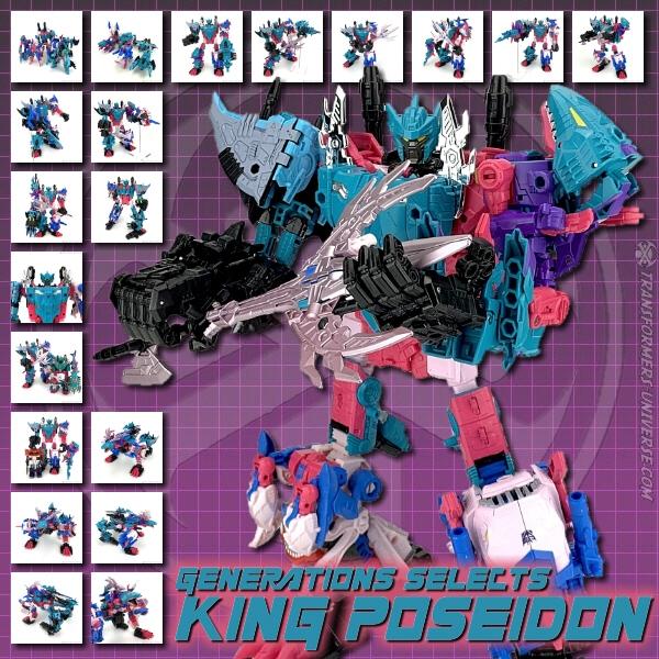 Generations Selects King Poseidon