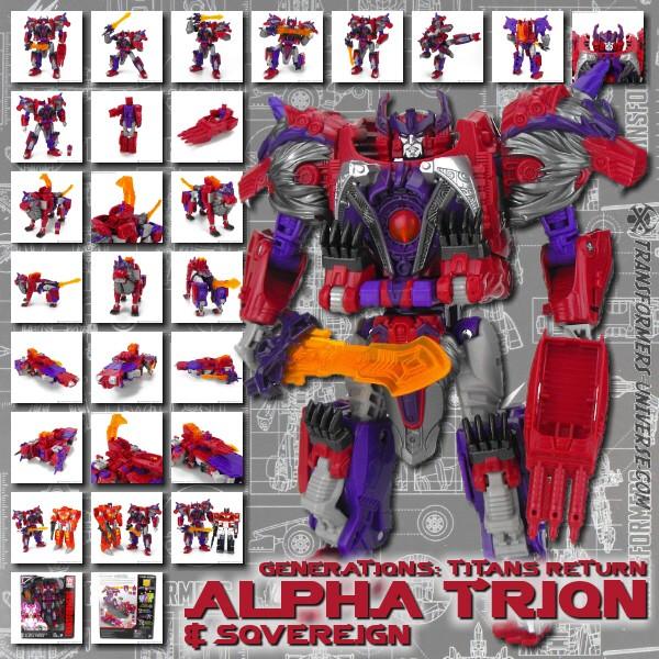 Titans Return Alpha Trion & Sovereign