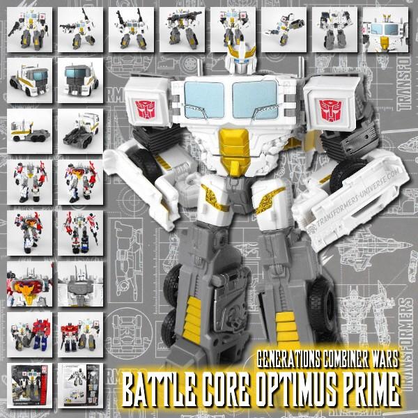 Combiner Wars Battle Core Optimus Prime