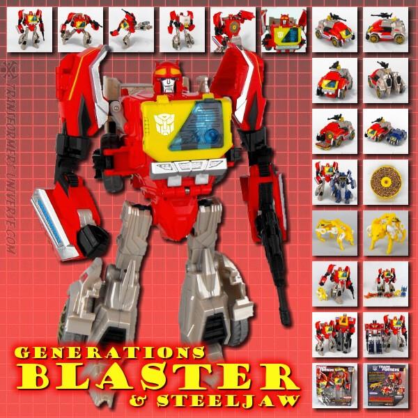 Generations Blaster & Steeljaw