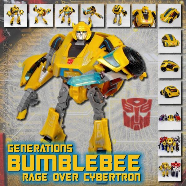 Generations Bumblebee Rage over Cybertron