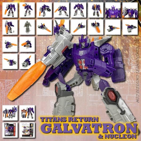 Titans Return Galvatron & Nucleon
