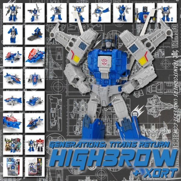 Titans Return Highbrow & Xort