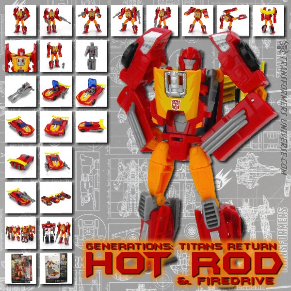 Titans Return Hot Rod & Firedrive