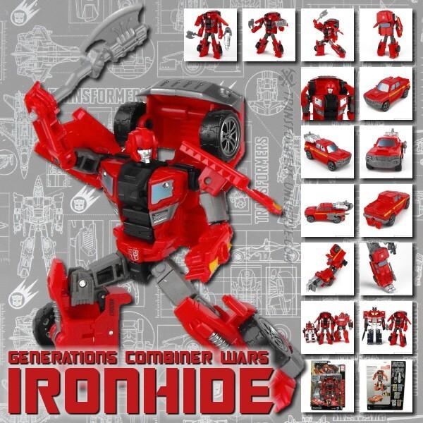 Combiner Wars Ironhide