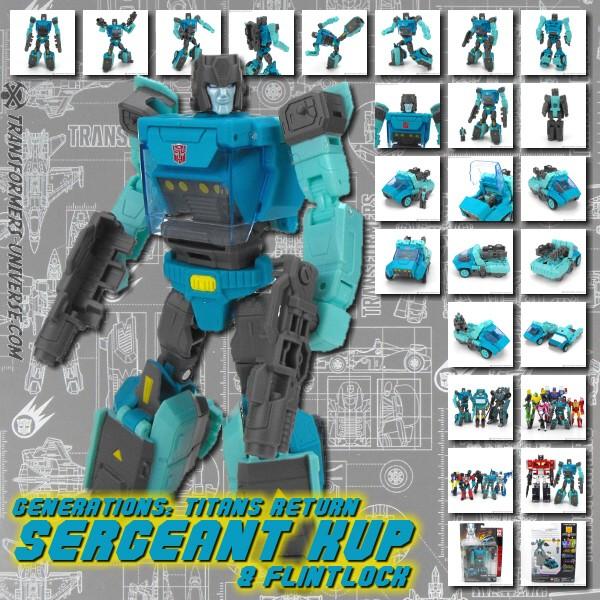 Titans Return Sergeant Kup & Flintlock