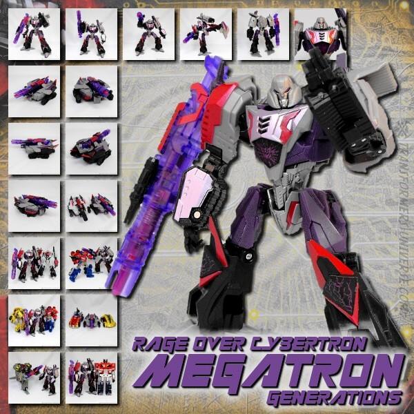 Generations Megatron Rage over Cybertron