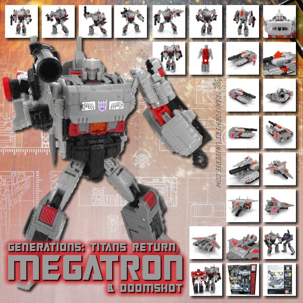 Titans Return Megatron & Doomshot