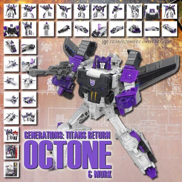 Titans Return Octone & Murk