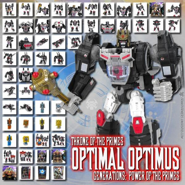 Power of the Primes Optimal Optimus