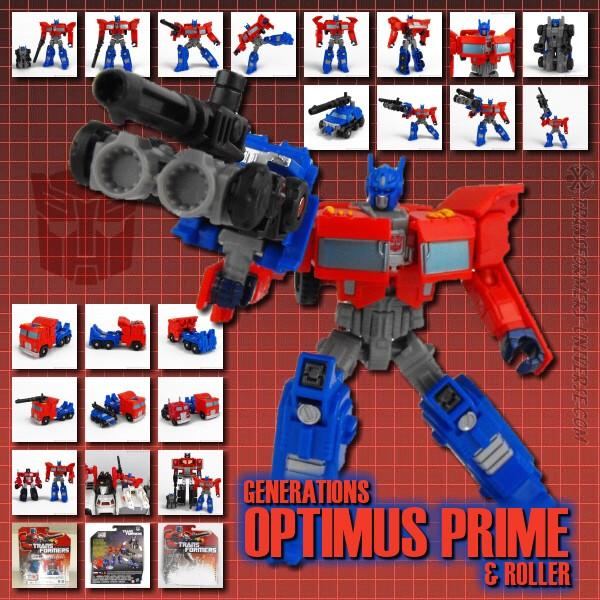 Generations Optimus Prime & Roller