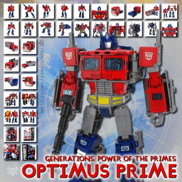 Power of the Primes Optimus Prime