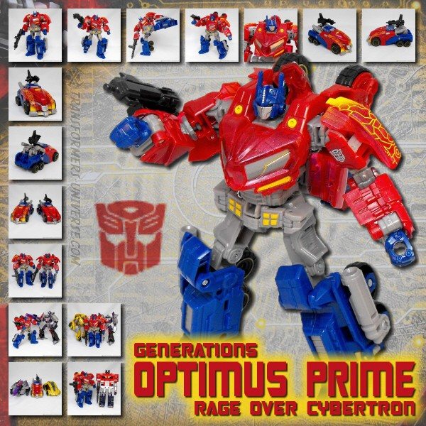 Generations Optimus Prime Rage over Cybertron