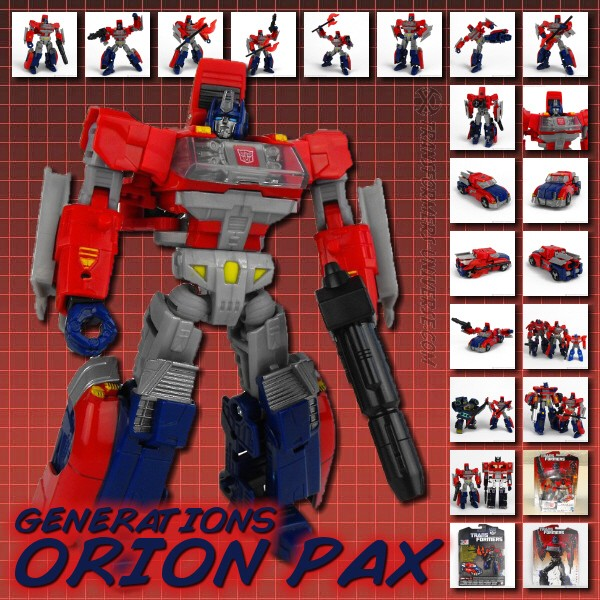 Generations Orion Pax