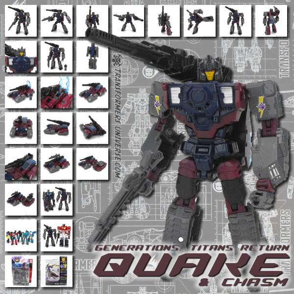 Titans Return Quake & Chasm