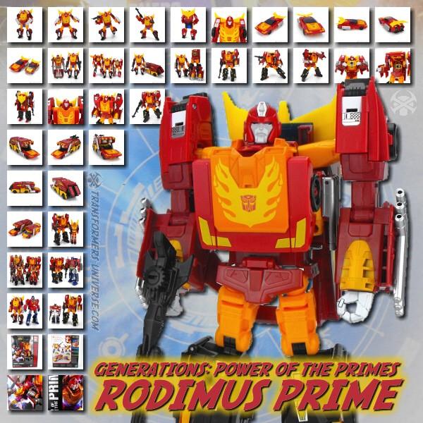 Power of the Primes Rodimus Prime