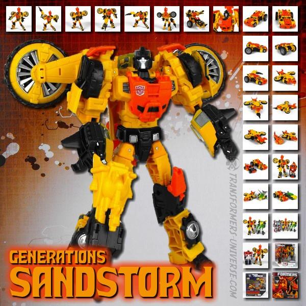 Generations Sandstorm