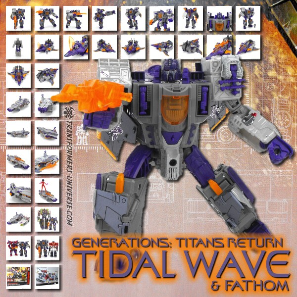 Titans Return Tidal Wave & Fathom