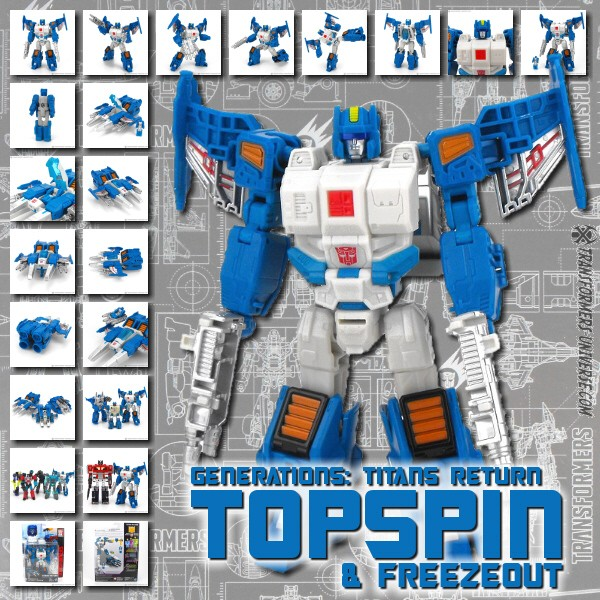 Titans Return Topspin & Freezeout