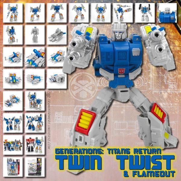 Titans Return Twin Twist & Flameout