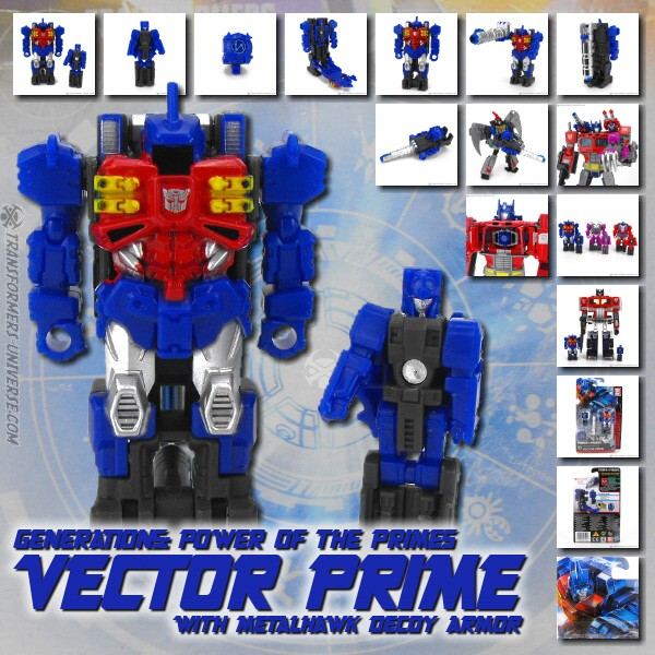 Power of the Primes Vector Prime