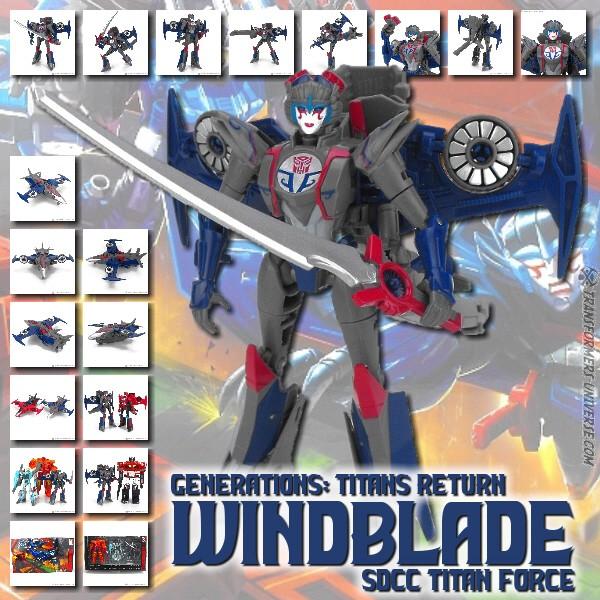 Titans Return Windblade (Titan Force)