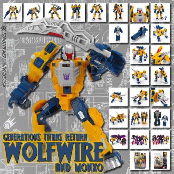 Titans Return Wolfwire & Monxo