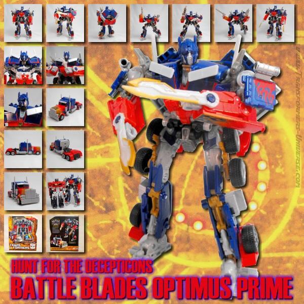 HftD Battle Blades Optimus Prime
