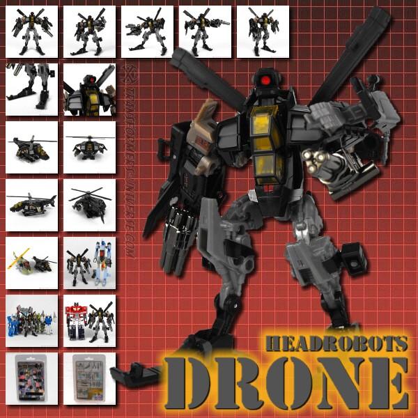 Headrobots Drone