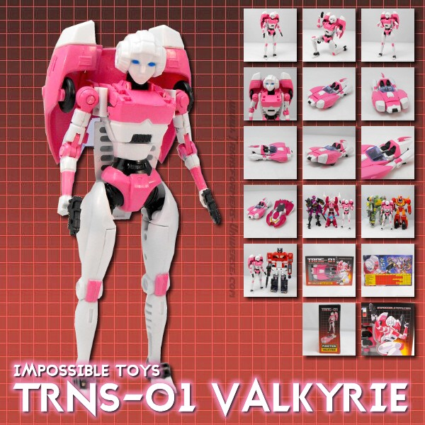 Impossible Toys TRNS-01 Valkyrie