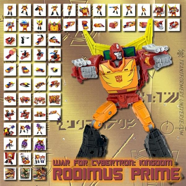 Kingdom Rodimus Prime