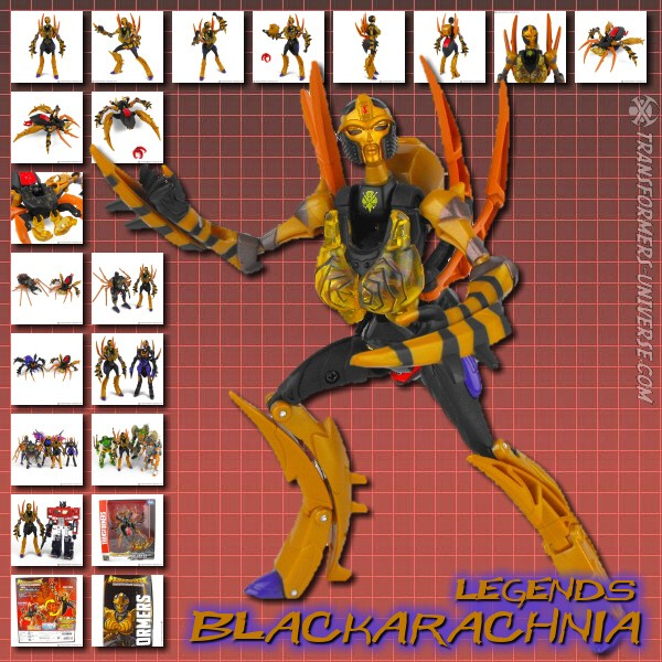 Legends Blackarachnia