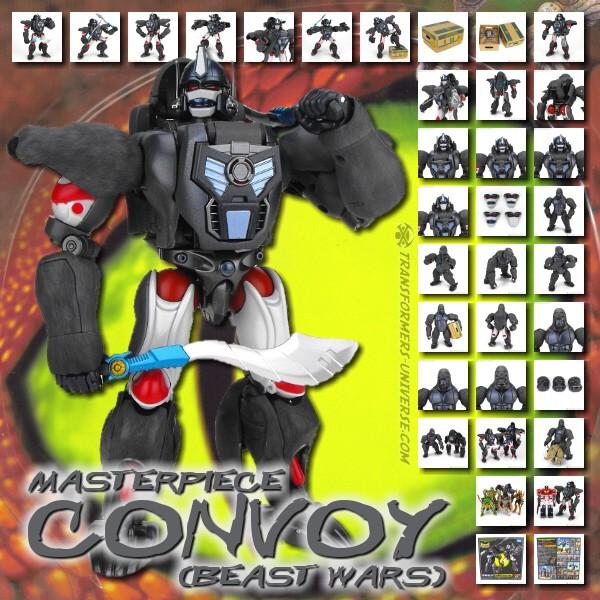 Masterpiece Convoy (Beast Wars)